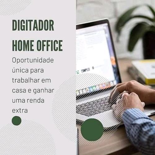 digitador home office