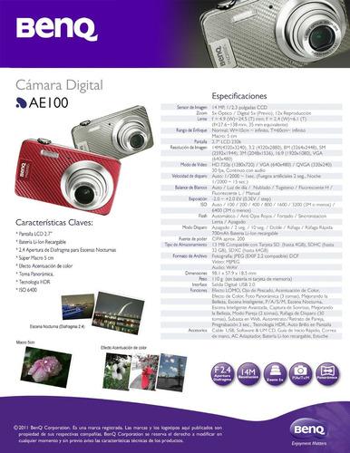 digital benq cámara