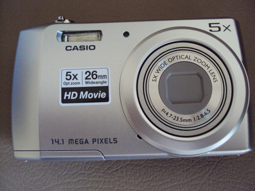 digital casio camara