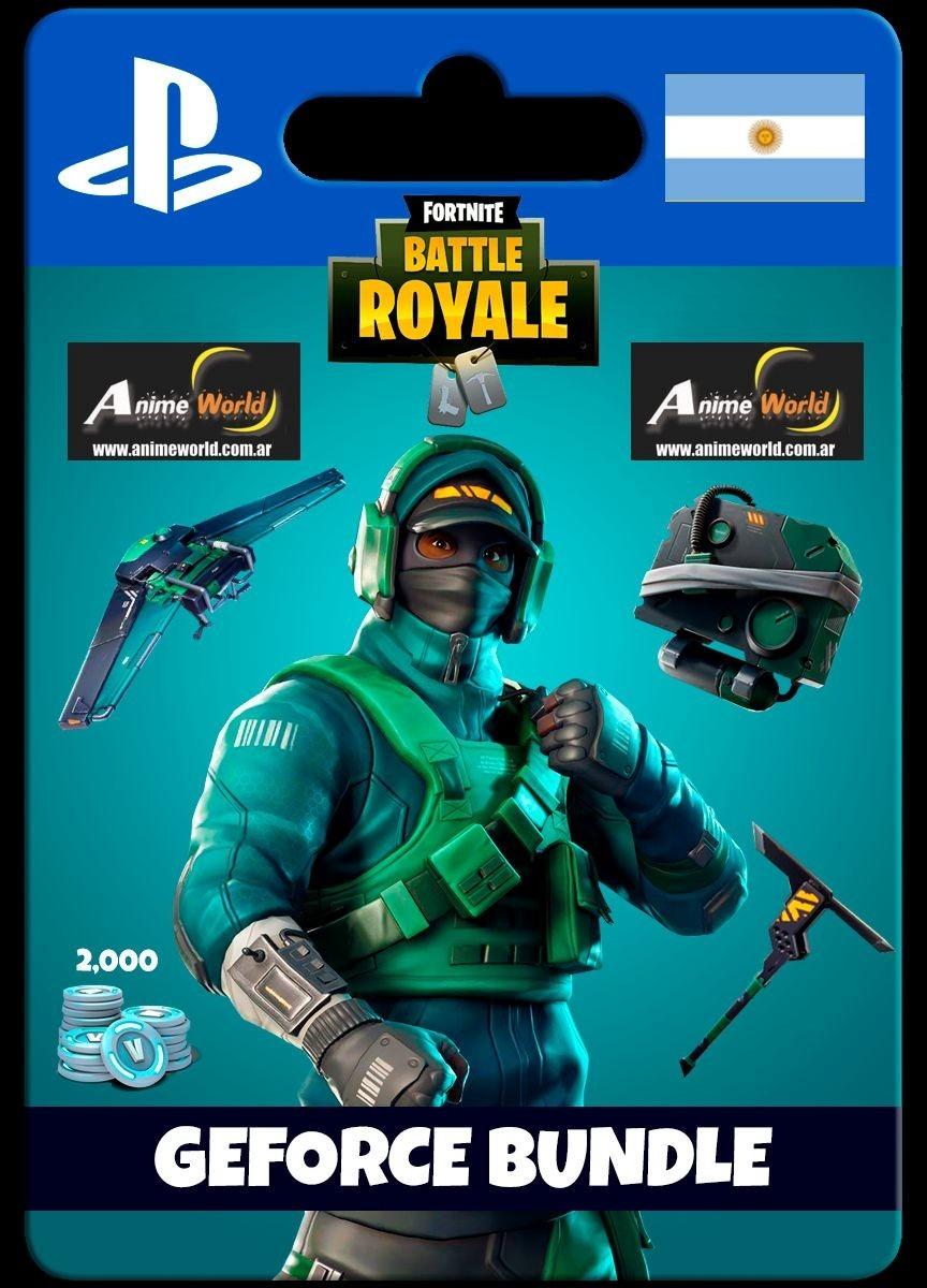 digital fortnite battle royale geforce bundle argentina ps4 3 100 00 en mercado libre - fortnite argentina