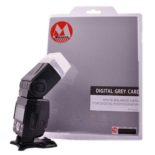 digital grey card / tarjeta gris p/ calibrar camara digital