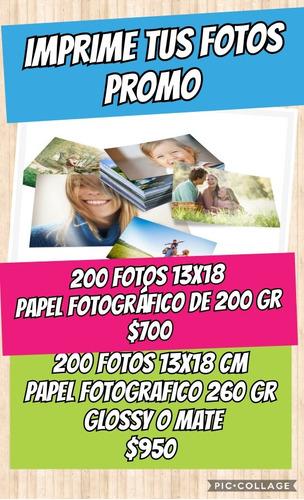 digital. imprimi tus fotos 13x18 cm