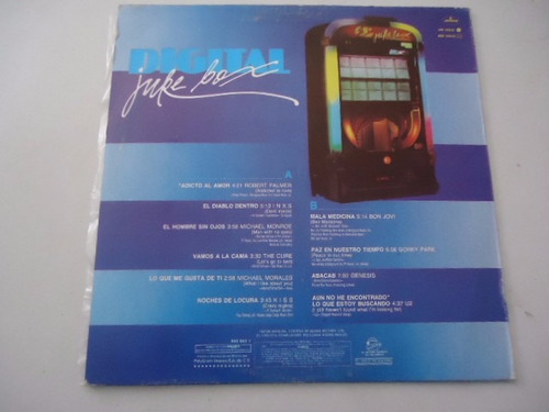digital juke box / varios artistas vinyl lp acetato