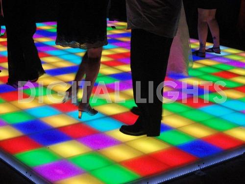 digital lights - piso / pista de baile led premium