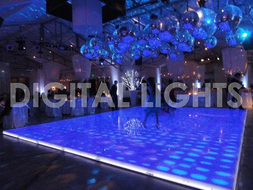 digital lights- piso/ pista de baile led x pc- precio promo!