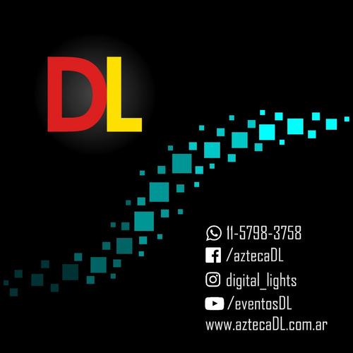 digital lights - pista de baile damero para eventos - combos