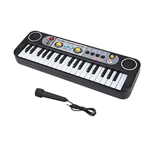 digital music piano keyboard, 37 keys multi-functional elect