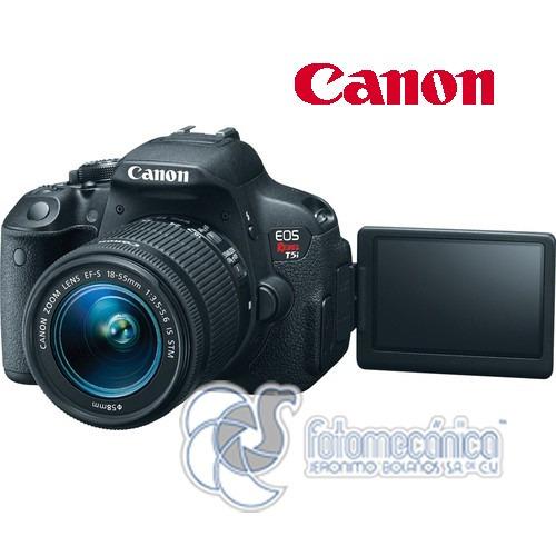 digital reflex canon cámara