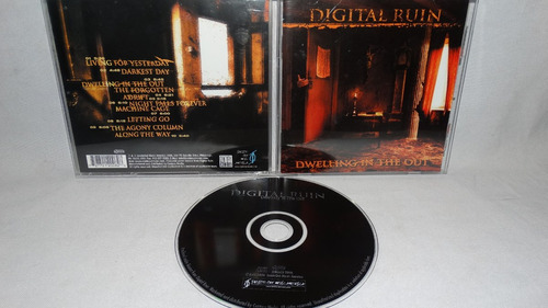 digital ruin - dwelling in the out (metal progresico usa 80s