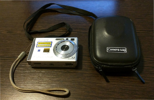 digital sony cámara