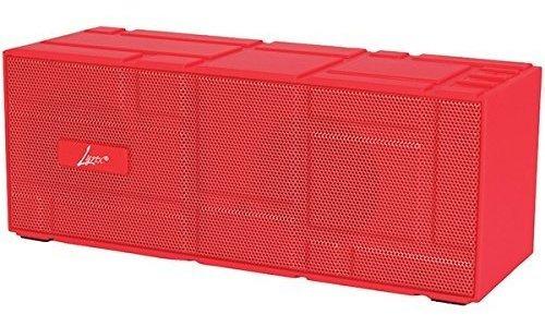 digital treasures 9867 lyrix remixx altavoz bluetooth rojo