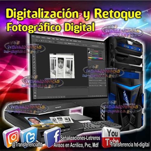 digitalizaciòn fotogràfica y video