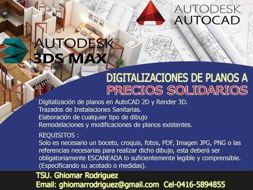 digitalizacion de planos