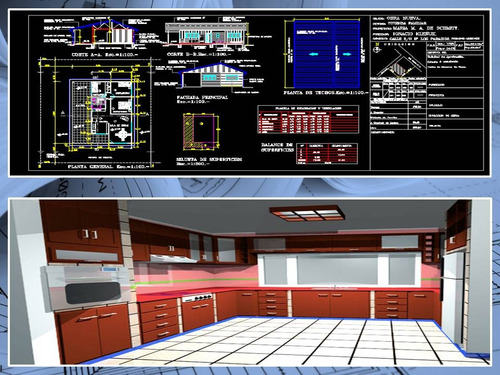 digitalización de planos en autocad y revit