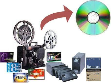digitalizacion de videos - betacam - vhs - super 8 - dvd - s