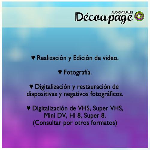 digitalización diapositivas negativos 3200 dpi vhs hi8 a dvd