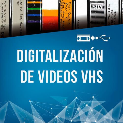 digitalización vhs, vhs-c, mini dvd, 8mm,dvd formato digital