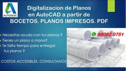 digitalizacion y edicion de pdf.imagen. hacia autocad 2020.