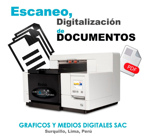 digitalizaciones | servicio de escaneo de documentos