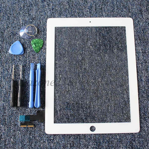 digitalizador blanco ipad 2 touch screen 2nd gen + herramien