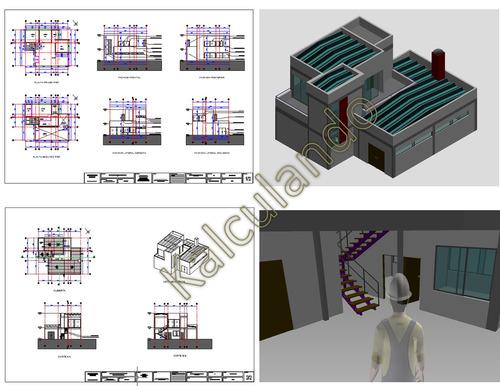 digitalizamos elaboramos planos en autocad 2d y maquetas 3d