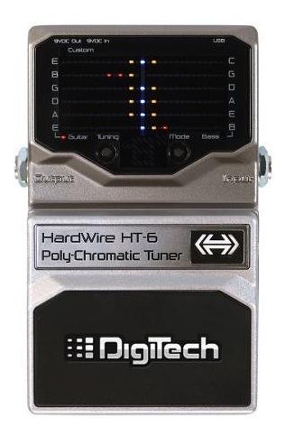 digitech ht6 afinador de escenario polifonico