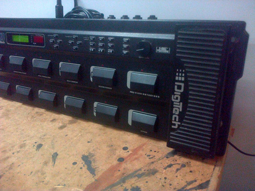 digitech rp-10 multi effects processor guitar