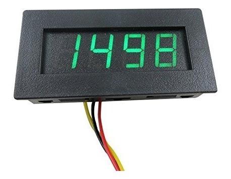 digiten 4 digital verde led tacómetro rpm- envío gratis
