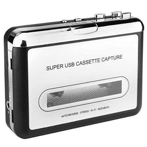digitnow! cinta de cassette para convertidor de cd de mp3...