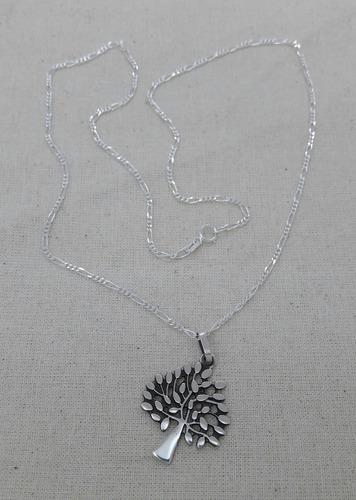 dije arbol de vida oxidado plata ,925 incluye cadena paco925