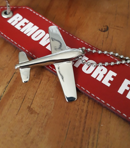 dije avion acero flysteel. remove before flight