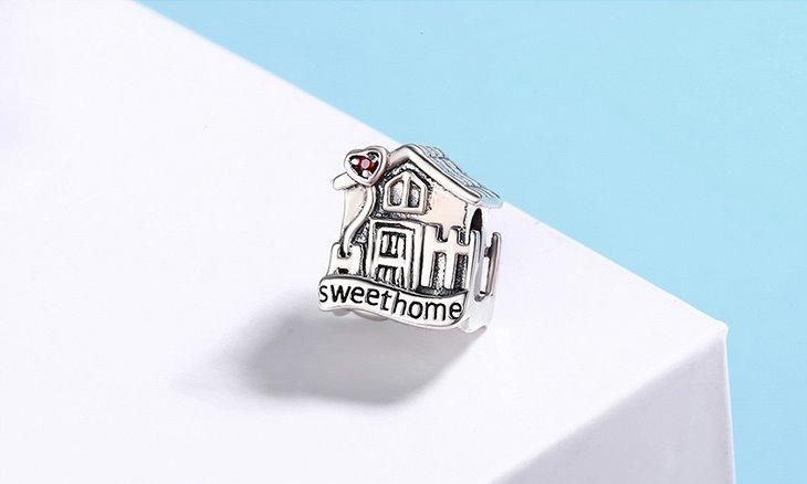charm pandora hogar dulce hogar