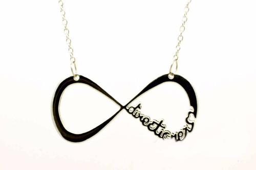 dije collar metalico one direction directioner