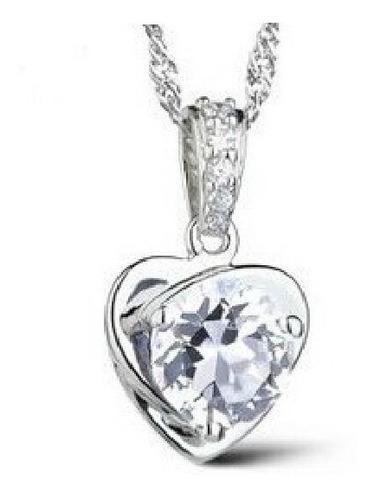dije con cristales, ocean heart oh15-487