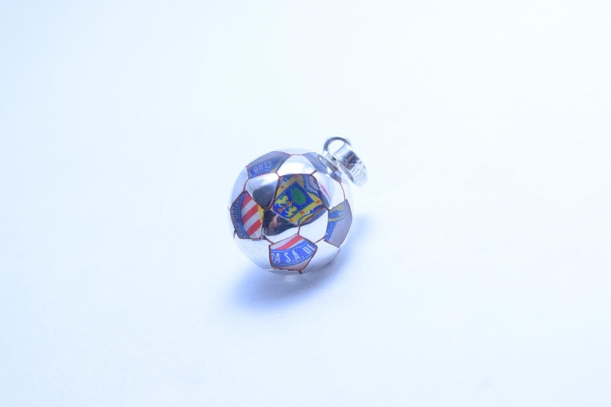 dije de balón de fútbol chivas en plata ley .925 s c equipos. Cargando zoom. 452248d68f826