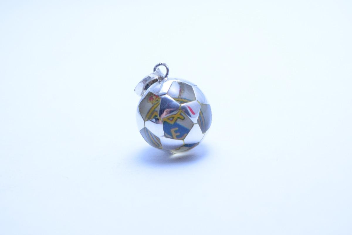 dije de balón de fútbol real madrid de plata ley .925 s c. Cargando zoom. edd80c1fec89d