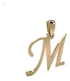 boutique de salida el más baratas acogedor fresco Dije De Inicial Oro 14k Letra M Ch
