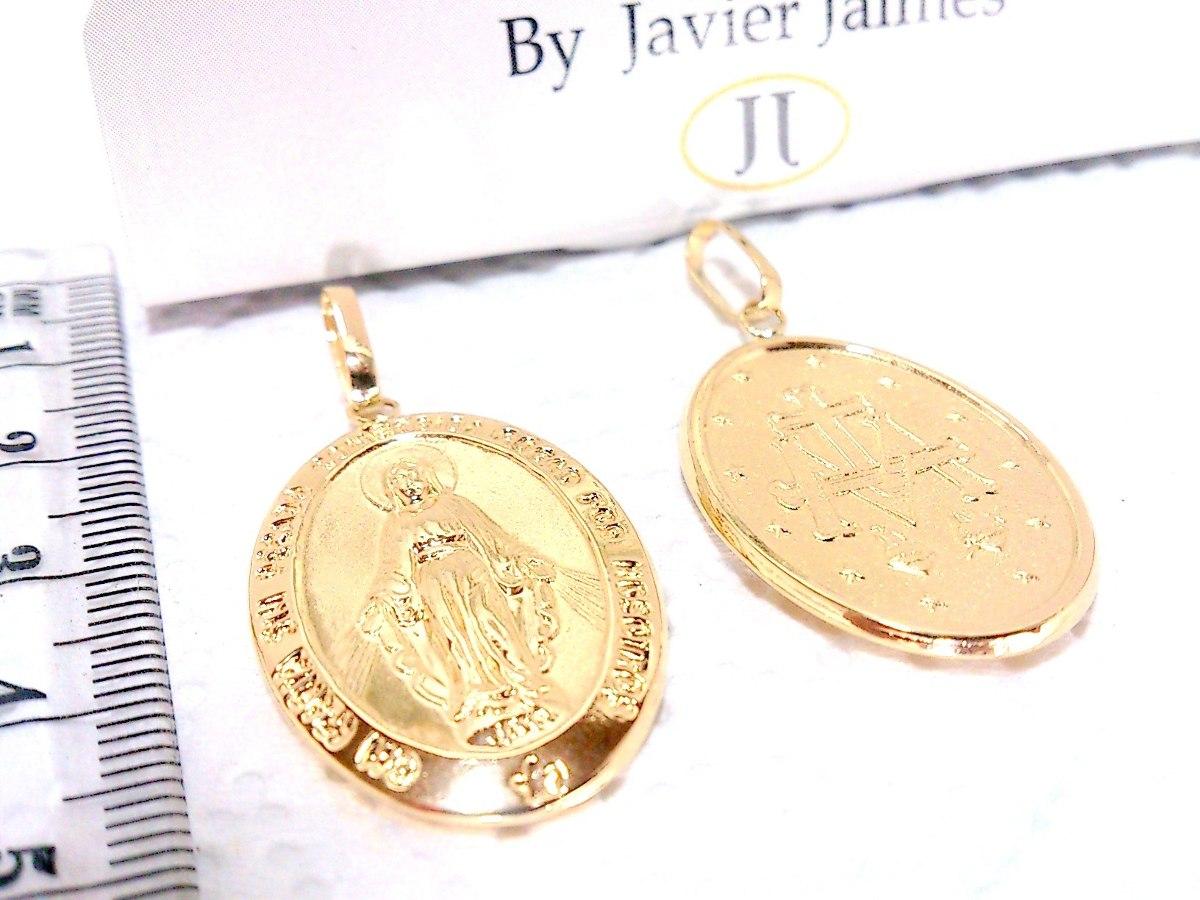 f1d6709f72e Dije Medalla Milagrosa En Oro De 18k 750 Despacho 3 Dias -   480.000 ...