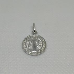 721c1a19ff4a Medalla De San Benito En Plata Fina 0.999 - Joyería en Mercado Libre  Colombia