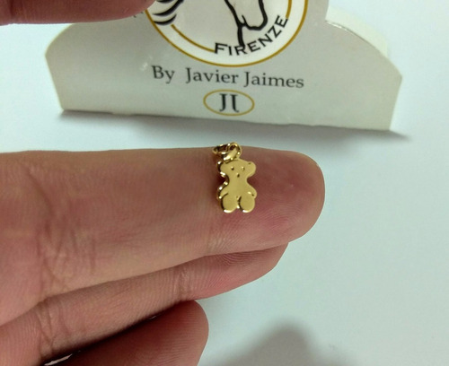 dije oso pequeño oro de 18k ley 750 despacho 3 dias