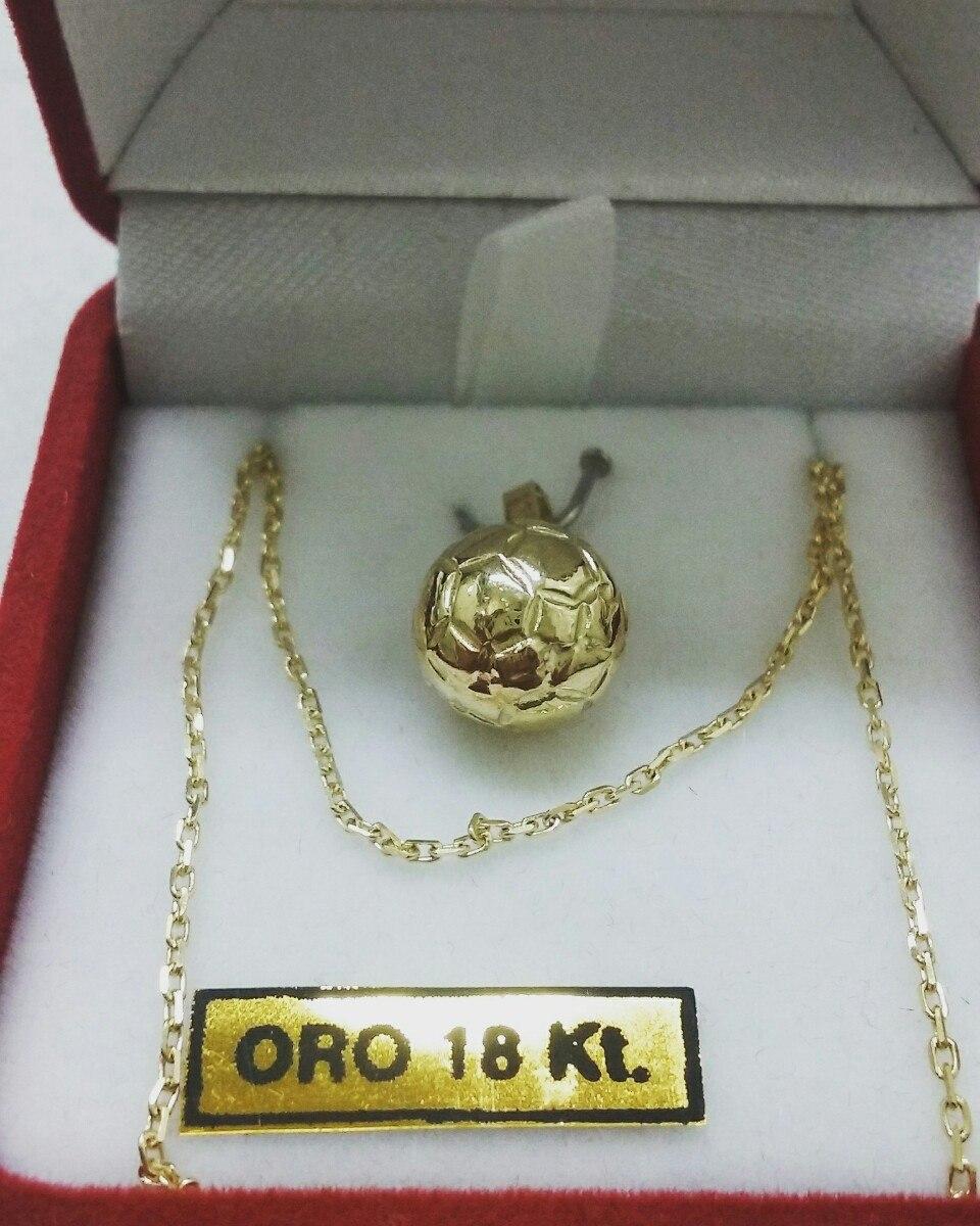 9e5249c1bef0 Dije Pelota De Futbol De Oro 18 Kt -   7.770