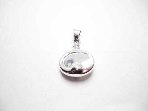 dije perfumero de plata  botella para perfume toledo.925