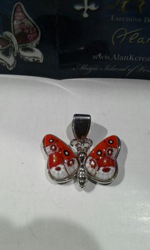 dije plata 925 cristal de murano by alan k