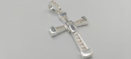 dije plata fina 925 cruz virgen juditas san benito jesucrist
