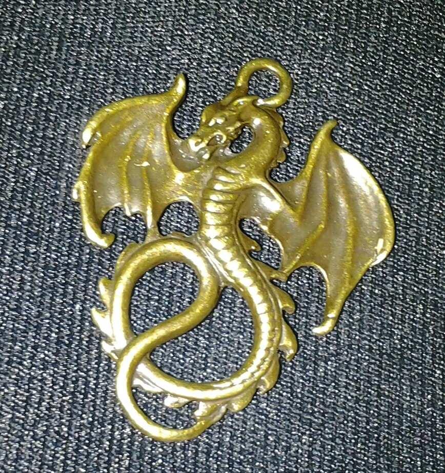 Dije Protector Dragon De La Suerte Talisman Atrae Fortuna 15500