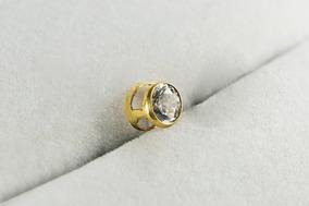 206528622e86 Dije Susano Pasante Oro 18 K Piedra Cubic 5 Mm 0