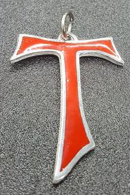 99b1581a5eb Joyas Collares Plata Cruz Franciscana Tau - Joyas y Relojes en Mercado  Libre Argentina