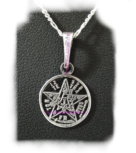 dije tetragramaton mini plata solida 925