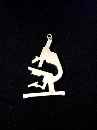 dijes collares microscopio médicos acero artistas online