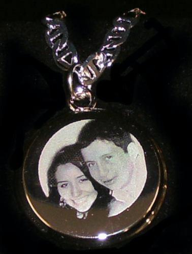 dijes con la foto que usted quiera, regalo joyas pareja